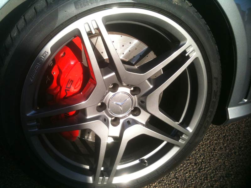 Kerbed Mercedes Alloy