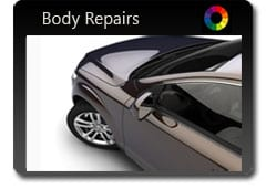 We Offer Car Body Repair