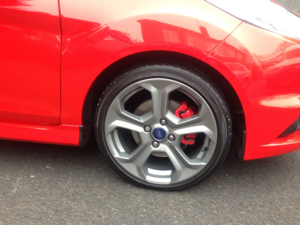Fiesta st wheel repair