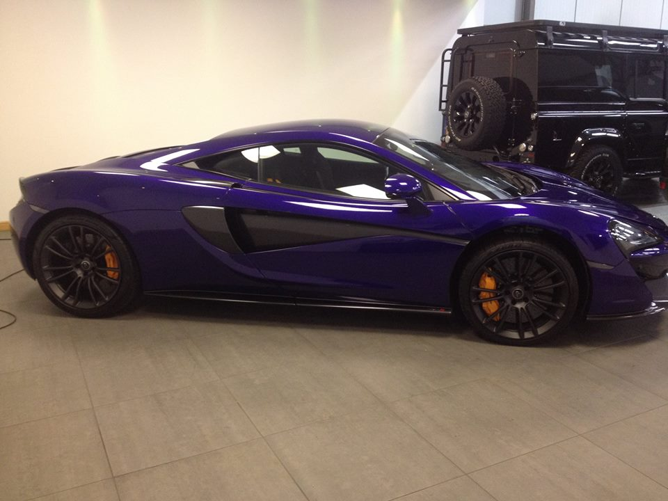 McLaren Machine polish